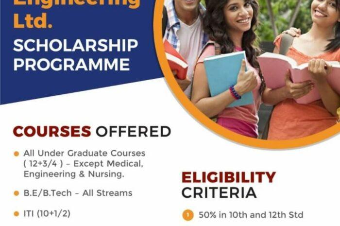 HC Infra Engineering Ltd Scholarship