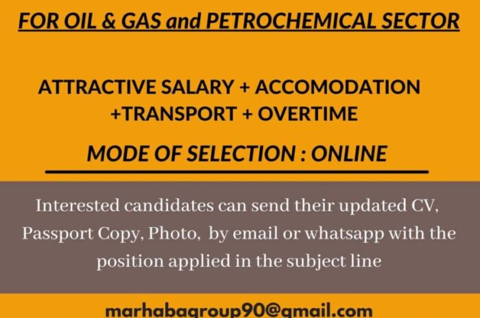 Job Opening for Safety officer @ Saudi Arabia